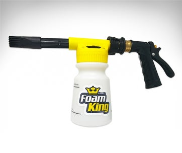 foam king - the king of suds - deluxe car wash sprayer