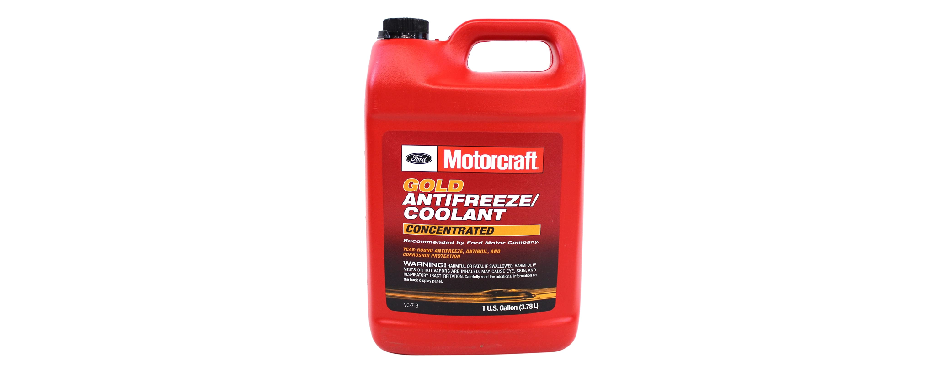 Genuine Ford VC-7-B Gold Concentrated Antifreeze