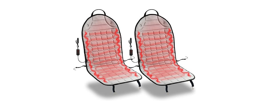 Zone Tech Car Heated Seat Cover