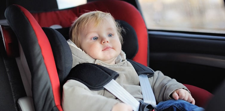 safety recommendations for car seat use