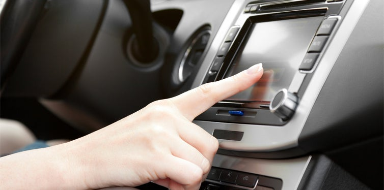touch screen stereo