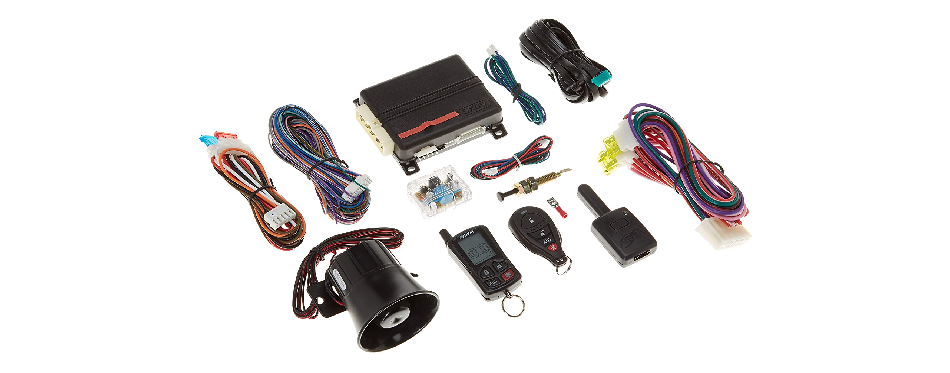 Python 5305P 2-Way LCD Security & Remote-Start System