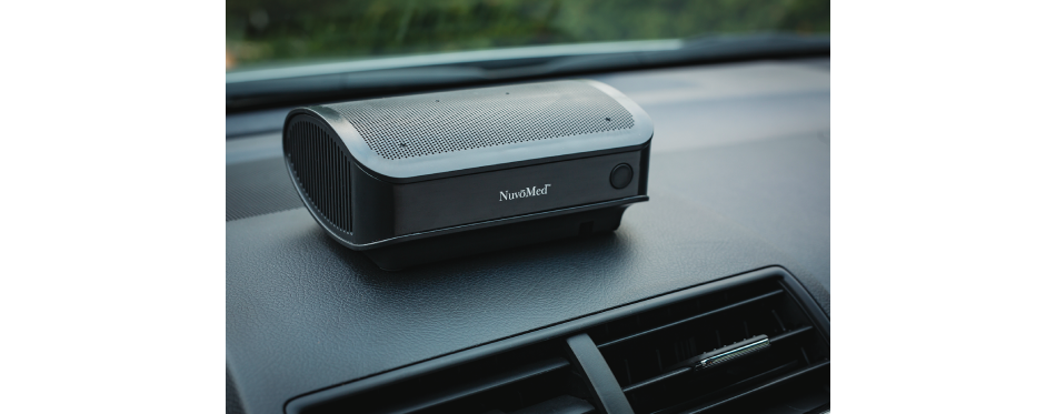 NuvoMedCar Air Purifier with Hepa Filter
