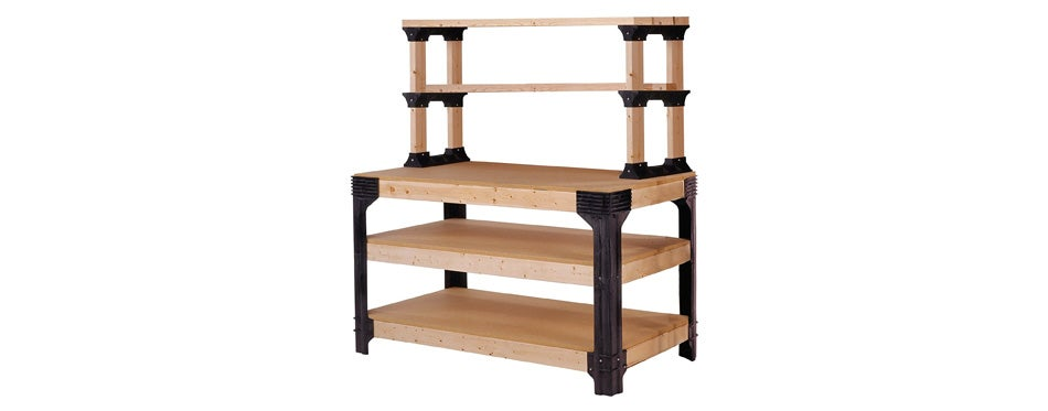 2x4basics workbench & shelving storage system
