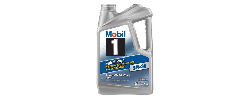Mobil 1 (120769) High Mileage 5W-30 Motor Oil