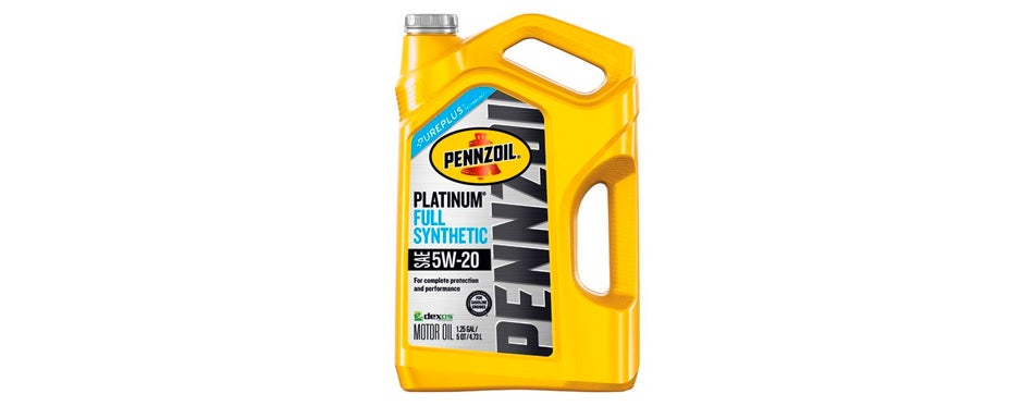 Pennzoil 550046122 Platinum 5 quart 5W-20 Full Synthetic Motor Oil