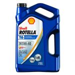 Shell ROTELLA T6 5W-40 Full Synthetic Diesel Engine Oil