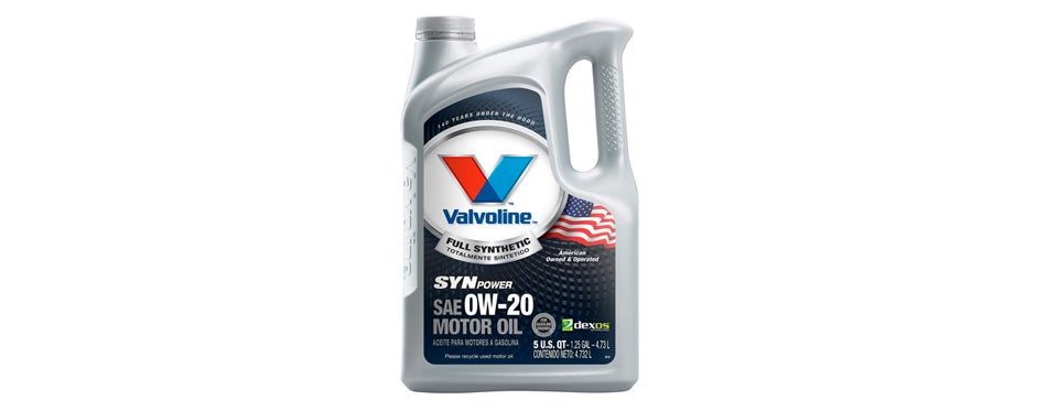 Valvoline 0W-20 SynPower Full Synthetic Motor Oil-5qt (813460)