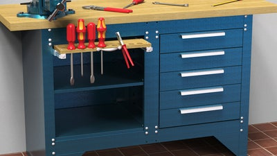The Best Garage Work Bench (Review & Buying Guide) in 2021