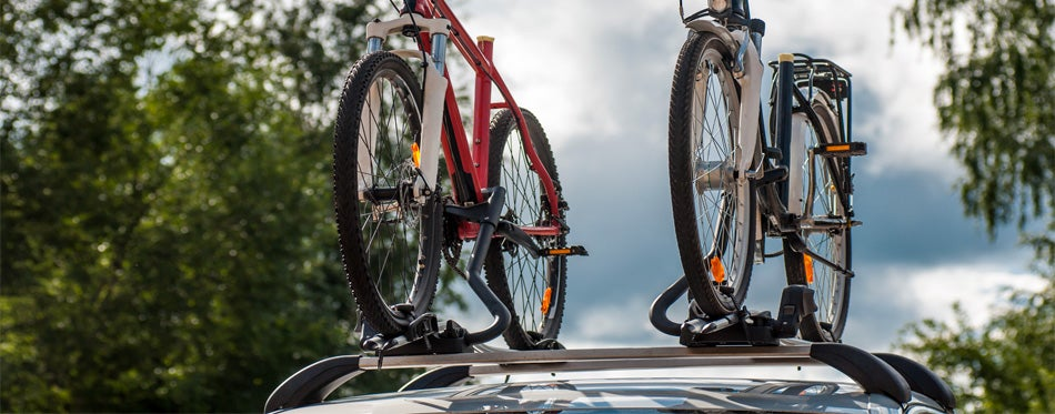 bike racks on the car