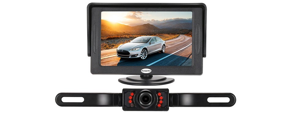chuanganzhuo backup camera and monitor kit for car