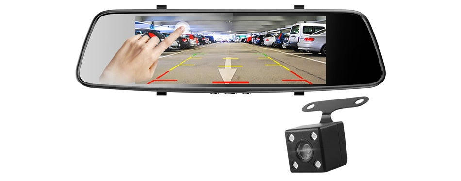 pruveeo d700 7-inch touch screen backup camera
