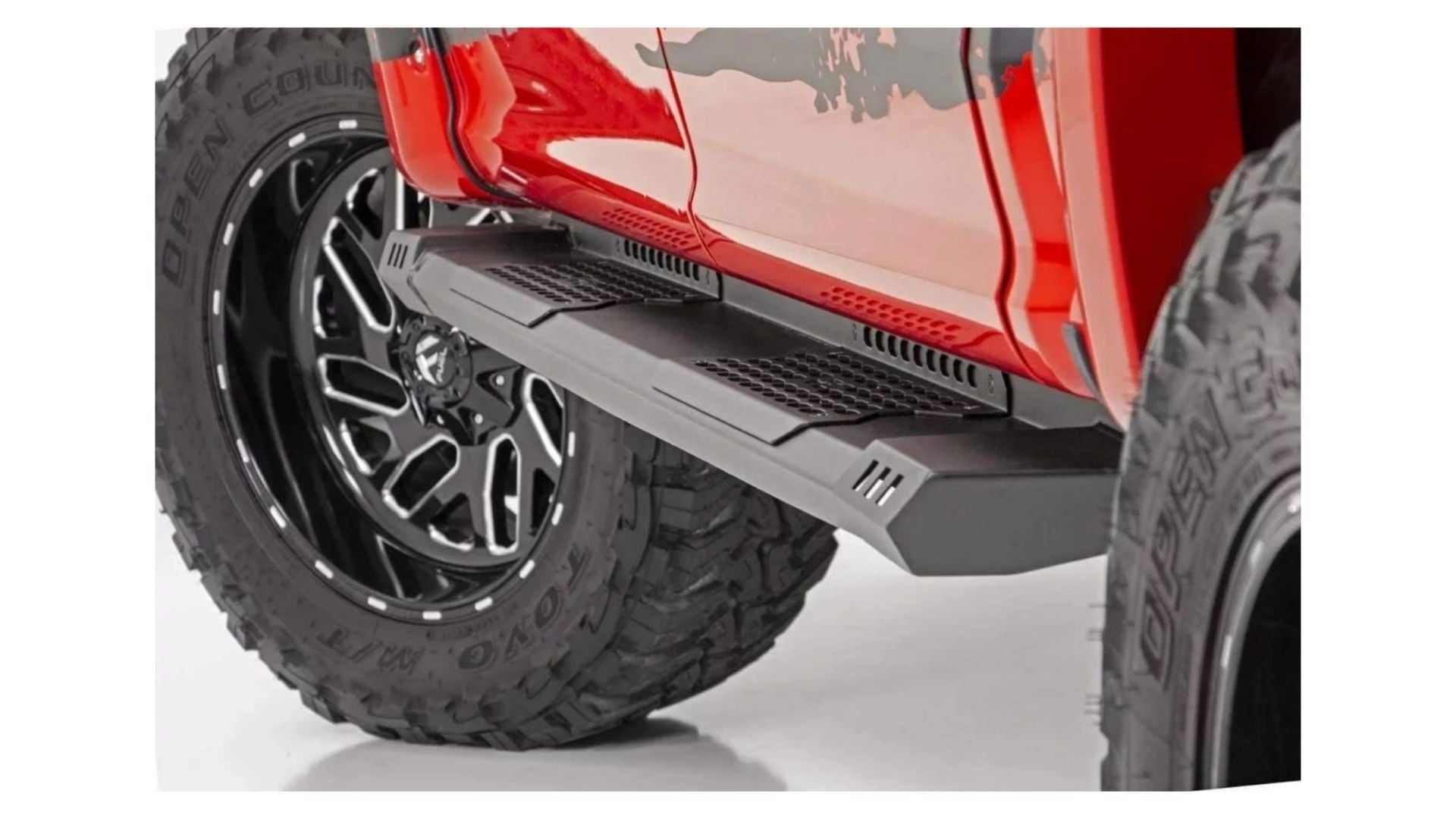 Rough Country HD2 Running Boards