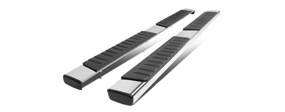 Auto Dynasty 6-Inch Stainless Steel Running Boards