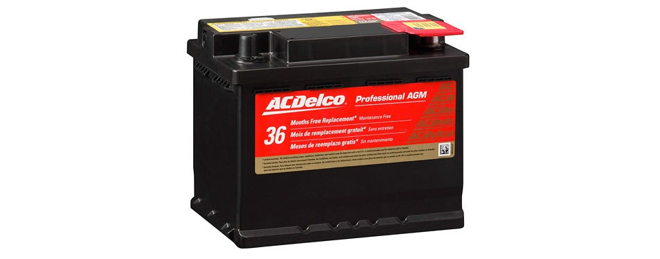 acdelco 47agm professional agm automotive battery