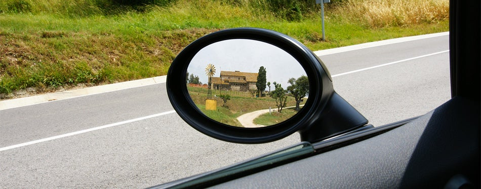 car's towing mirrors