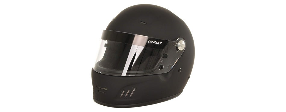 conquer snell sa2015 approved full face auto racing helmet