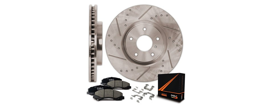 max advanced brakes max kh061031 front premium slotted
