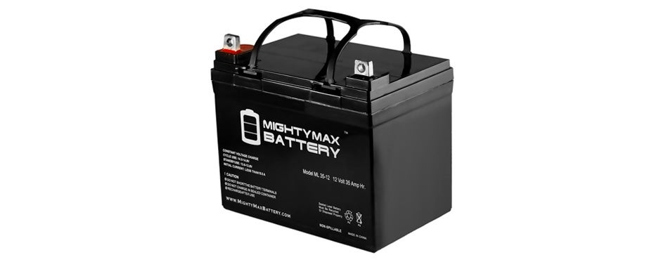 mighty max ml35-12 deep cycle solar battery