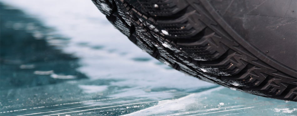 tires on ice