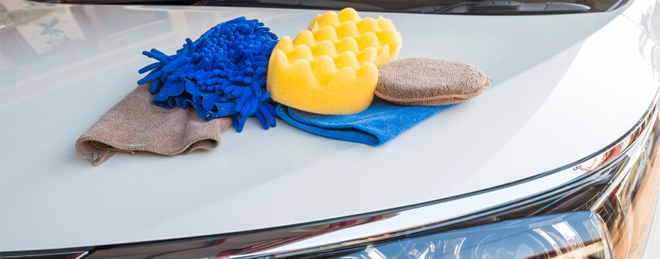 washing car mitts