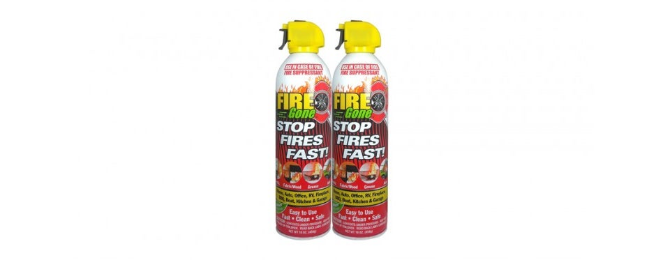 2NBFG2704 White/Red Fire Suppressant by Fire Gone