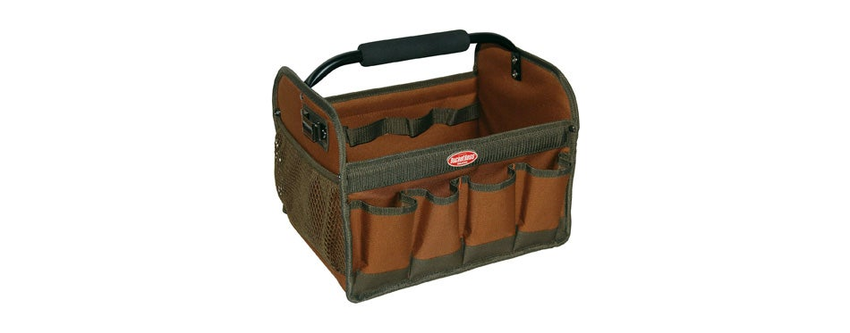 bucket boss gatemouth hard tote tool bag