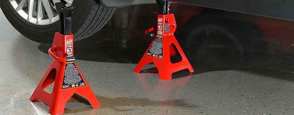 car safety jack stand