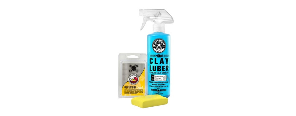 chemical guys clay bar and lubricant kit