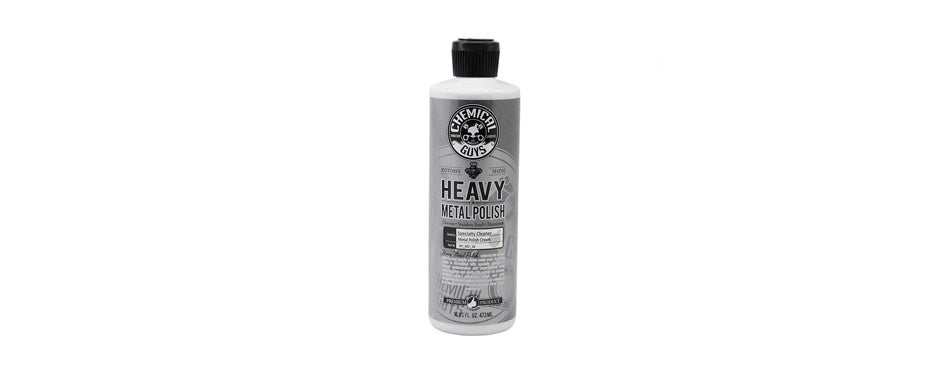 chemical guys heavy metal polish, restorer and protectant