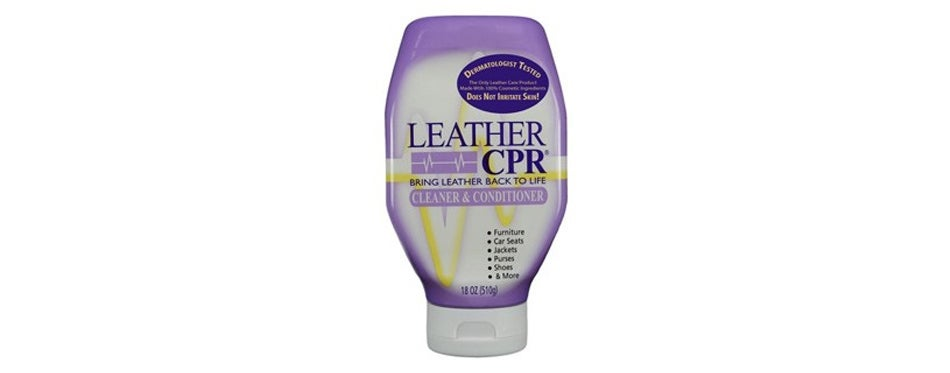 cpr cleaning products leather cleaner and conditioner