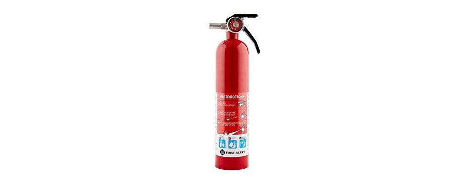 first alert rechargeable standard home fire extinguisher