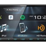 kenwood 2 din receiver with hd radio