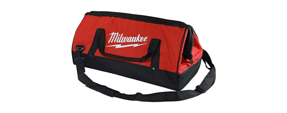 milwaukee heavy duty canvas bag