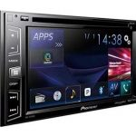 pioneer avh x390bs double din 6.2 inch stereo
