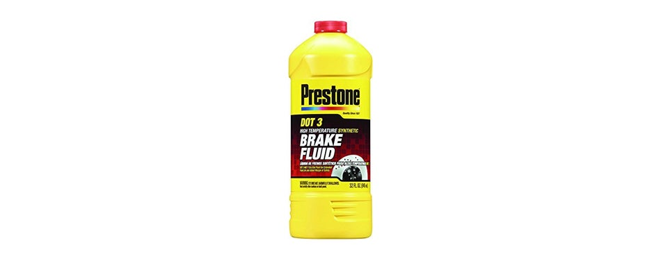 Prestone DOT3 Synthetic Brake Fluid