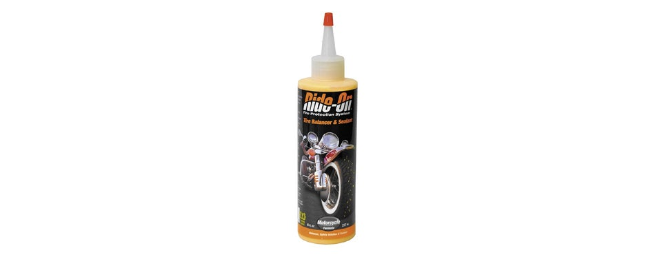 ride on motorcycle tire balancer and sealant