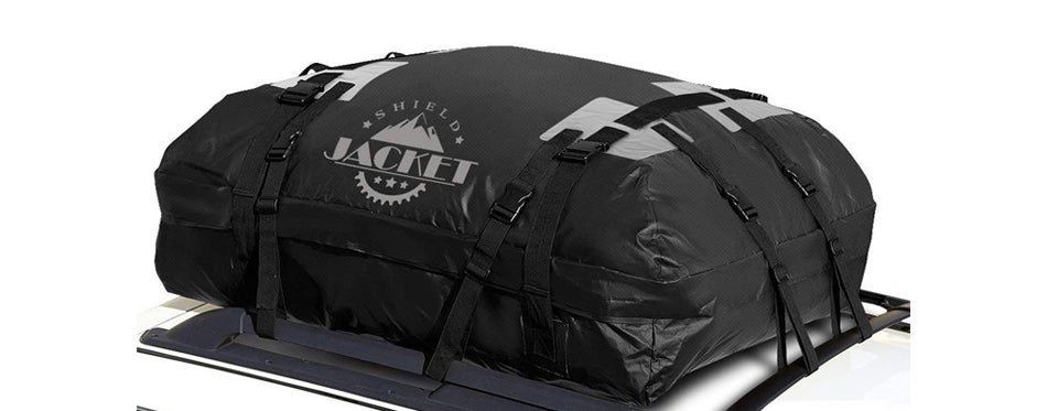 shield jacket roof top luggage bag