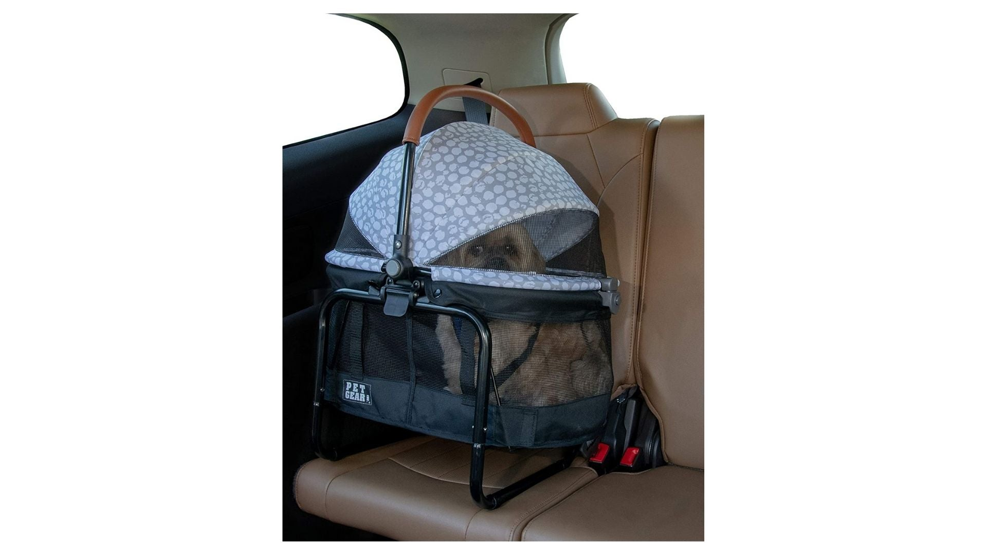 Pet Gear View 360 Pet Carrier & Car Seat with Booster Seat Frame