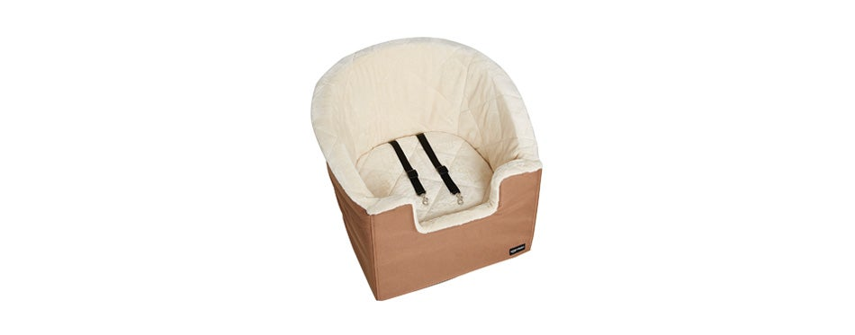 amazonbasics pet bucket booster seat