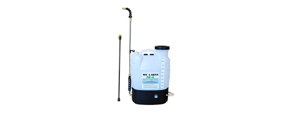 battery powered backpack sprayer wide mouth