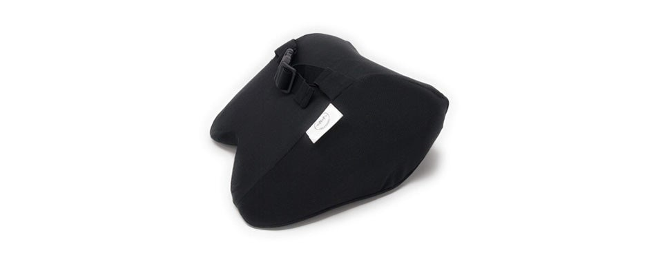 car neck pillow with adjustable strap for therapeutic support from a&a creations