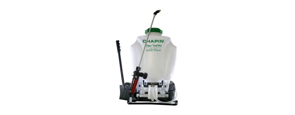 chapin 61900 4 gallon tree and turf pro commercial backpack sprayer