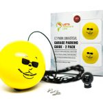 double garage parking aid ball guide system