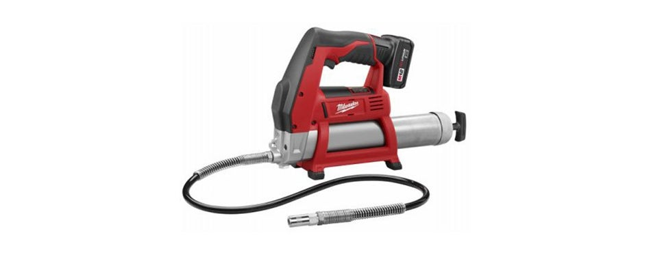 milwaukee 2446-21xc m12 12-volt cordless grease gun