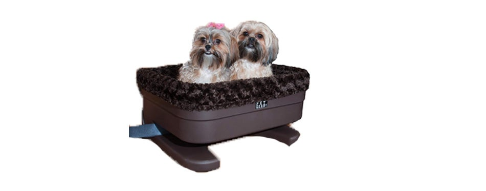 pet gear bucket booster car seat