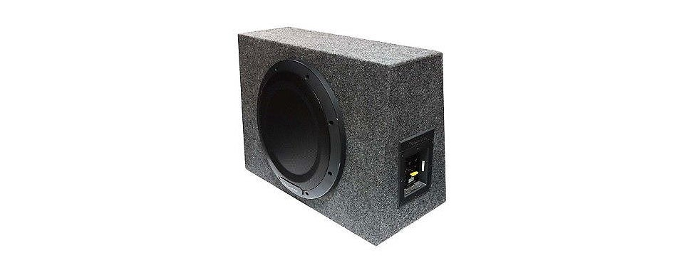 pioneer ts wx1210a 12 sealed enclosure active subwoofer built in amplifier