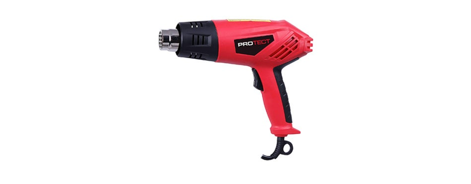 protect 1500w 9 piece heat gun kit in carry case
