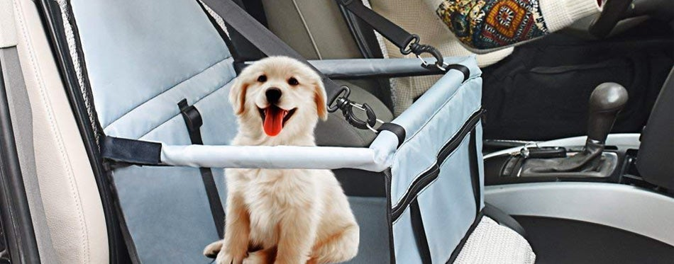 The Seat Belts Simply Loop Through And A Strap Which Will Then Clip To Your Pet S Harness Ensuring They Are Safely Stred In