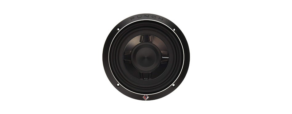 rockford fosgate p3sd2 8 8 dual 2 ohm punch series shallow mount car subwoofer